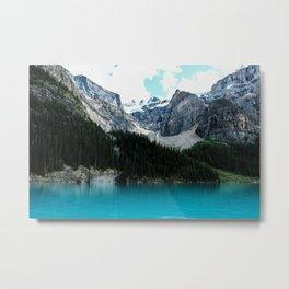 Moraine lake Wander (landscape) Metal Print