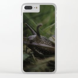 Home is where you park it! Clear iPhone Case