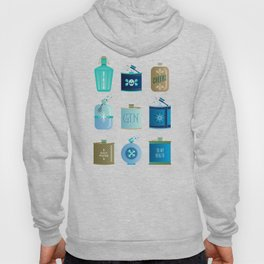 Flask Collection – Blue and Tan Palette Hoody