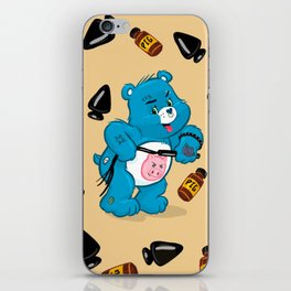Dirty Bear iPhone Skin
