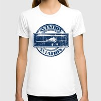 aviation T-shirts featuring Retro Aviation Art by MacDonald Creative Studios