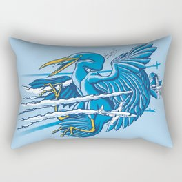Near Miss Rectangular Pillow