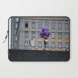 Purple balloon Laptop Sleeve