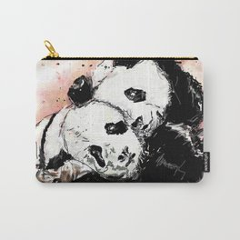 Two pandas Carry-All Pouch