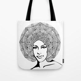 Mandala Hunt Tote Bag
