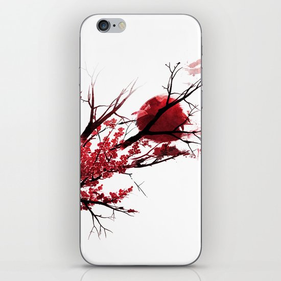 Blood Moon iPhone & iPod Skin