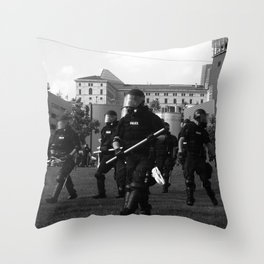 weowntheworld Throw Pillow