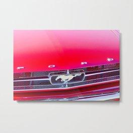 Classic cars - Ford Mustang Metal Print