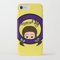 dorothy iPhone & iPod Cases featuring Dorothy by Nightmare Productions