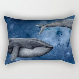 The Whale Who Met  Itself. Rectangular Pillow