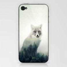 Fox, Forest Animal, Woodlands, Wilderness iPhone & iPod Skin