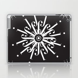 "Snowflakes - The Didot ""j"" Project Laptop & iPad Skin"