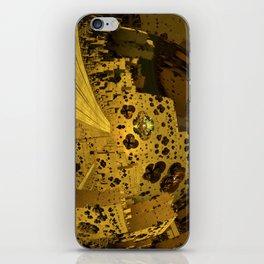 City of Golden Dust iPhone Skin