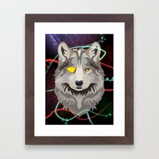 Odinwolf Framed Art Print