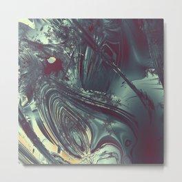 Flowing energy, Metal Print