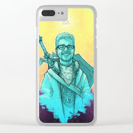The Legend Of Robert Clear iPhone Case
