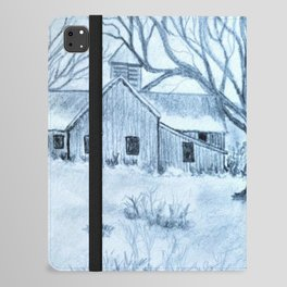 In The Coolness Of The Moon Light iPad Folio Case