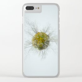 Memories of green Clear iPhone Case
