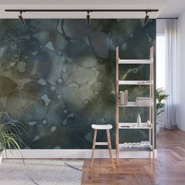 floating colors Wall Mural