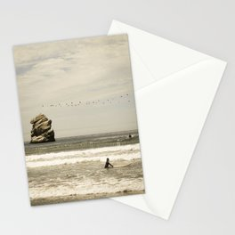 Labor Day Surfing.  Stationery Cards