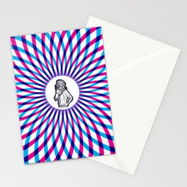 In too deep Stationery Cards