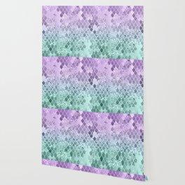 Mermaid Glitter Scales #1 #shiny #decor #art #society6 Wallpaper
