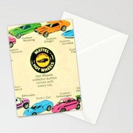 1969 Hot Wheels Redline Poster Stationery Cards