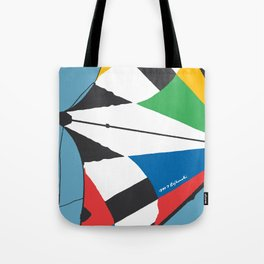 Kite—Sky Blue Tote Bag