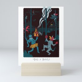 Ball of Beasts Mini Art Print