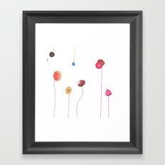 Floral Decorative Framed Art Print