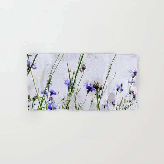 Cornflowers blue II Hand & Bath Towel
