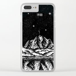Mountain Sky Clear iPhone Case