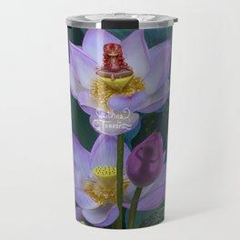 Lotus of India Travel Mug