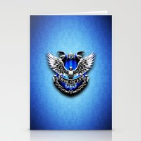 ravenclaw Stationery Cards featuring HARRY POTTER RAVENCLAW by Veylow