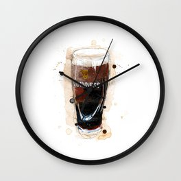 Pint of Guinness Wall Clock