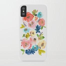 Floral POP #2 iPhone Case