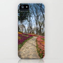 park in Istanbul iPhone Case