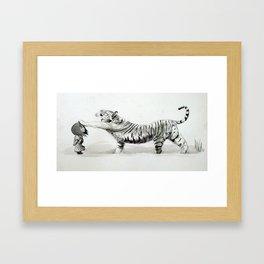 Wind & Tiger Framed Art Print
