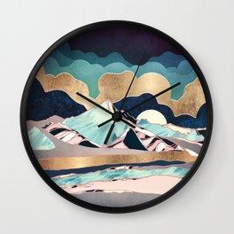 Indigo Spring Wall Clock