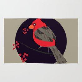 Cardinal Song Rug