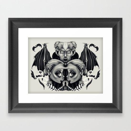 """""""Tattoeums VII"""" Framed Art Print"""