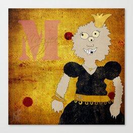 Princess Mayzee (Princess Monsters A to Z) Canvas Print