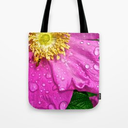 Morning Dew Busy Bee - The Peace Collection Tote Bag
