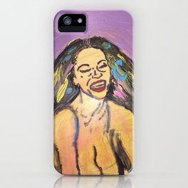I am Black Girl Magic 3 iPhone Case