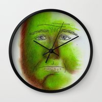 grumpy Wall Clocks featuring Grumpy by Stro