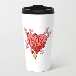 Valentine heart Travel Mug