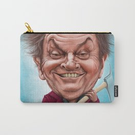Jack Nicholson caricature Carry-All Pouch
