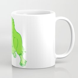 Leaping Lime Musk-Ox Coffee Mug