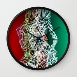 Retro Dimension Wall Clock
