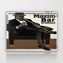 Vintage poster - Maxim-Bar Laptop & iPad Skin